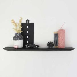 Wandplank - Zwart eiken - 60 cm