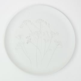 Plantenbord XL - Wit 02