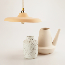 Platte hanglamp | Oranje