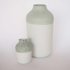 Vaas | Clay | L | Groen | Kleine streep
