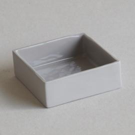 Vierkant bakje - Grijs