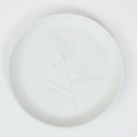 Plantenbord L - Wit 06