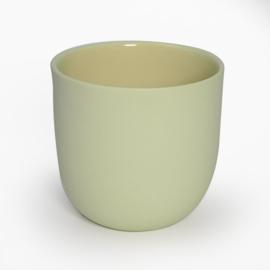 Blanko thee kop - Geel