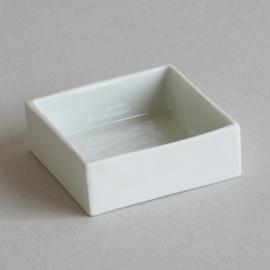 Vierkant bakje - Wit