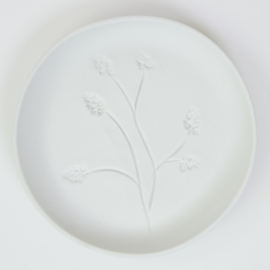Plantenbord M - Wit 02