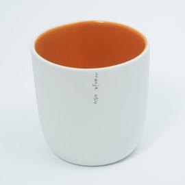 Kleur kopje | Oranje 054