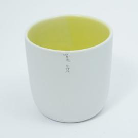 Kleur kopje | Geel 055