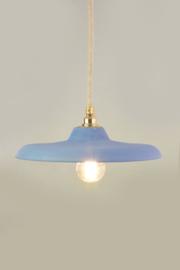 Platte hanglamp | kobalt