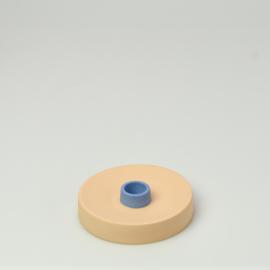 Kaarsenkandelaar | Rond  | Oranje 1216