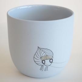 17 -  Kop thee - Blauw