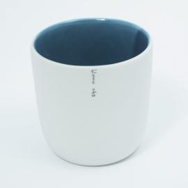 Kleur kopje | Blauw 065