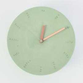 Klok groot - Groen