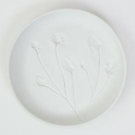 Plantenbord M - Wit 09