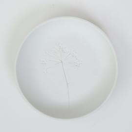 Plantenbord S - Wit 04