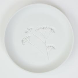 Plantenbord M - Wit 07