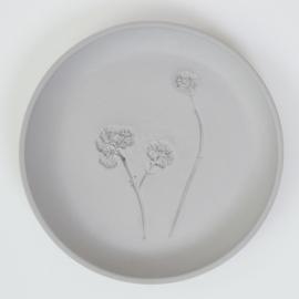 Plantenbord M - Grijs 04