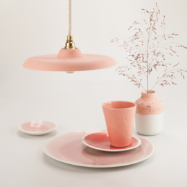 Platte hanglamp | Rood