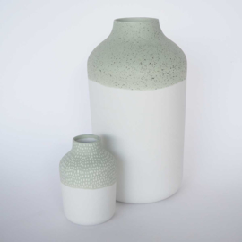 Vaas | Clay | L | Groen | Grote streep