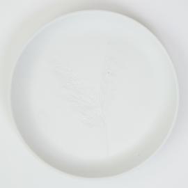 Plantenbord M - Wit 03