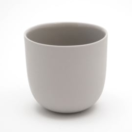 Blanko thee kop - Grijs