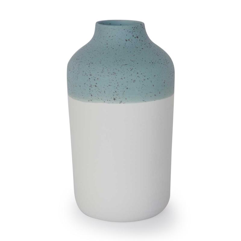 Vaas | Clay | L | Blauw | Stip