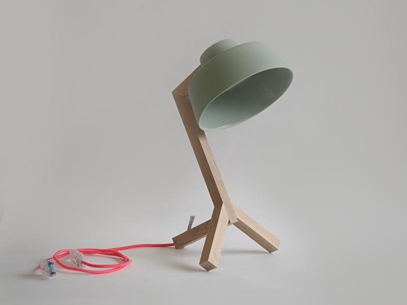 Bureaulamp - Groen