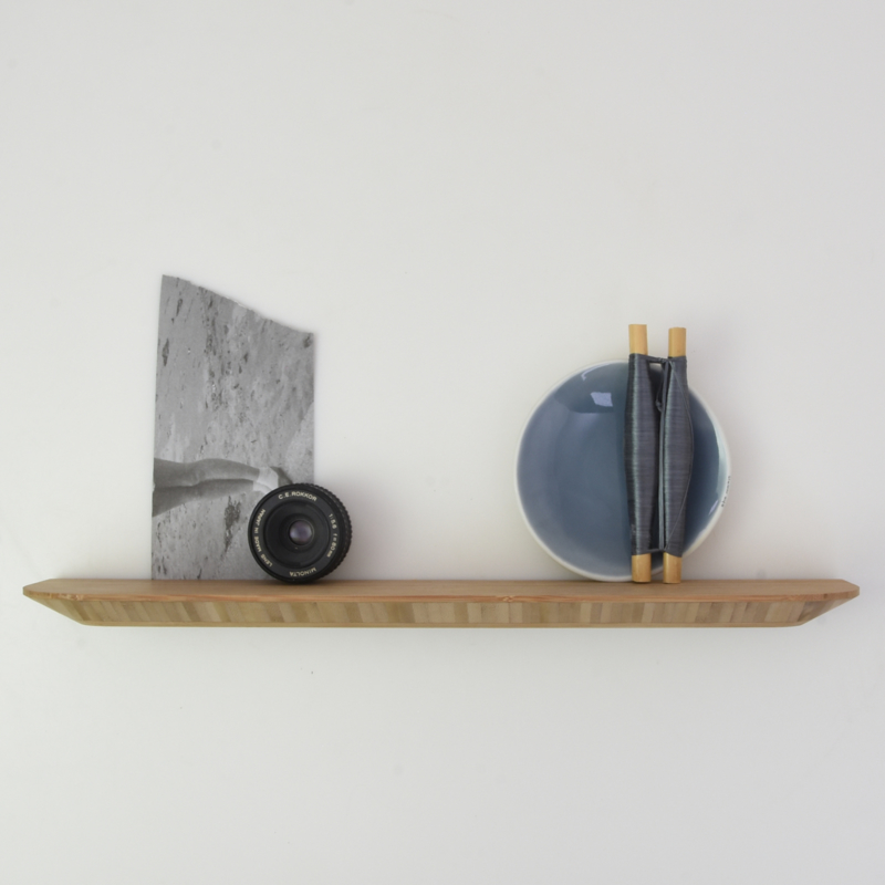 Wandplank - Bamboe - 45 cm