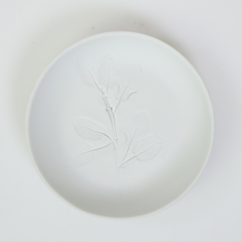 Plantenbord S - Wit 02