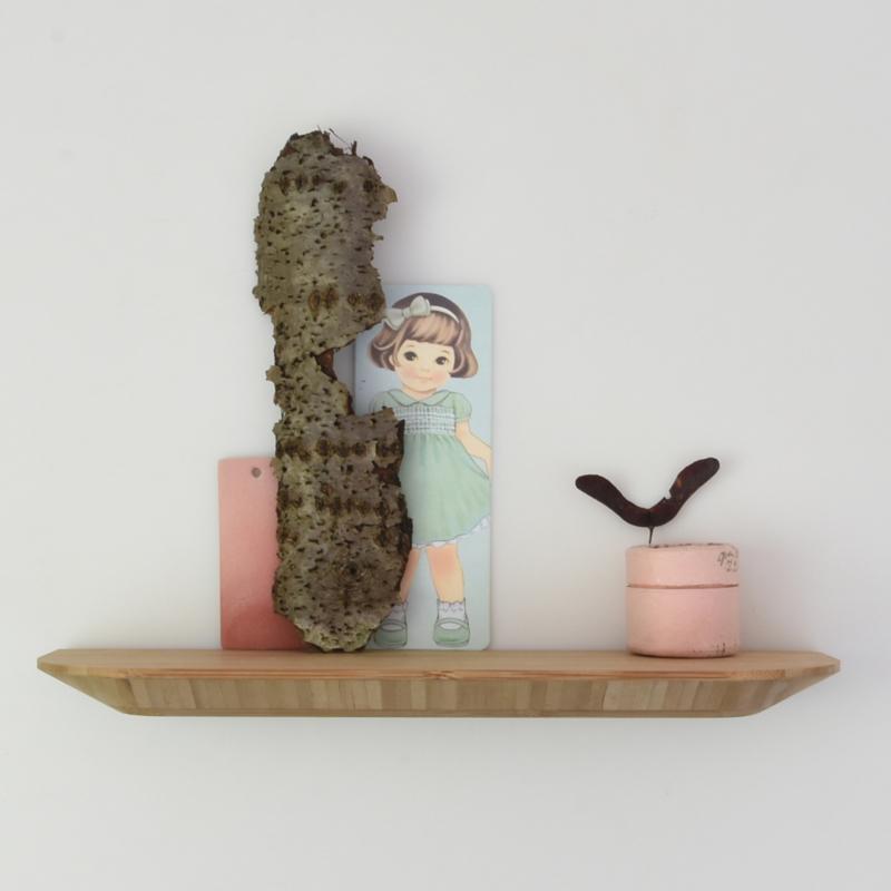 Wandplank - Bamboe - 30 cm