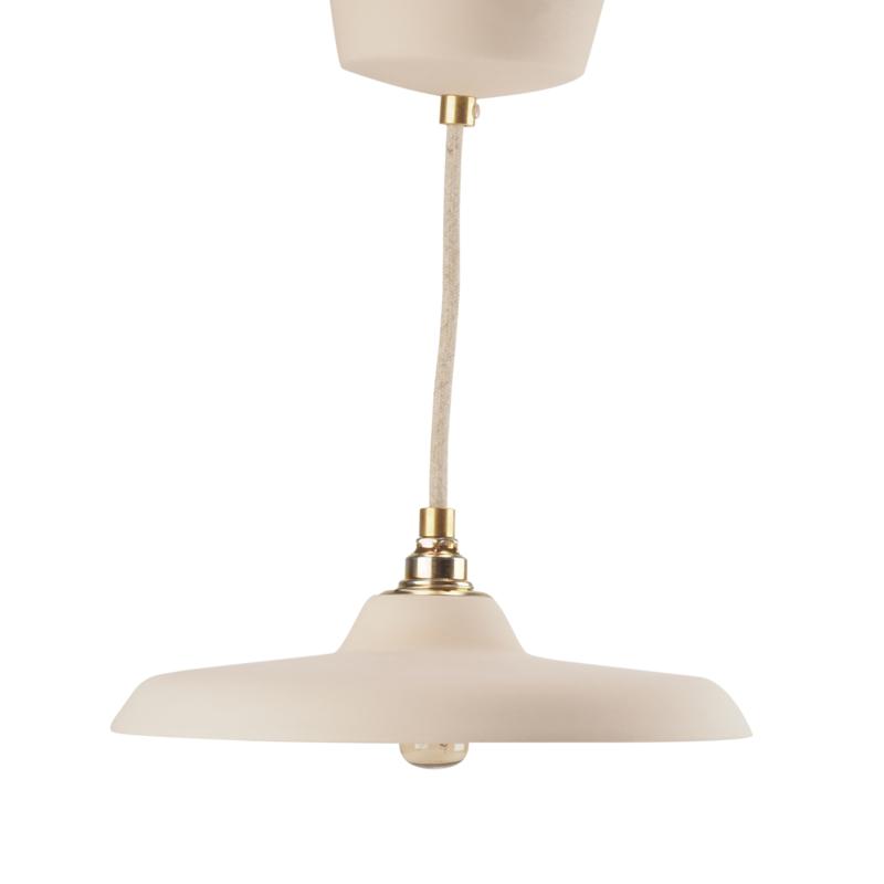 Platte hanglamp | Nude