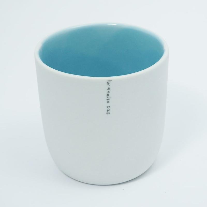 Kleur kopje   Blauw 023