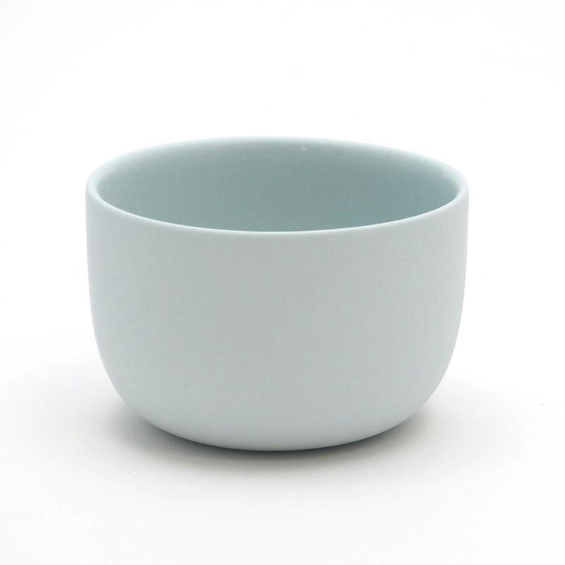 Blanko koffie kop - Lichtblauw