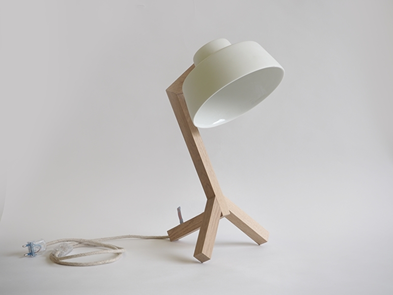 Bureaulamp - Wit
