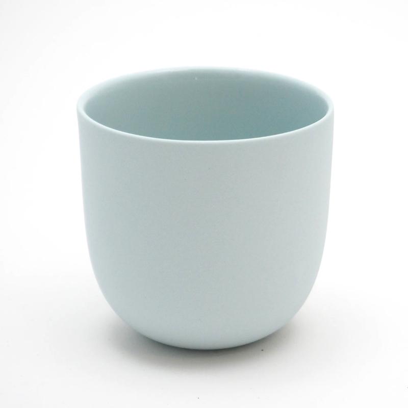 Blanko thee kop - Lichtblauw