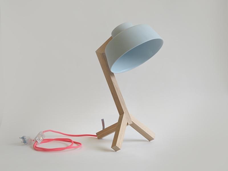 Bureaulamp - Blauw