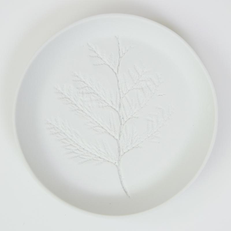 Plantenbord M - Wit 12