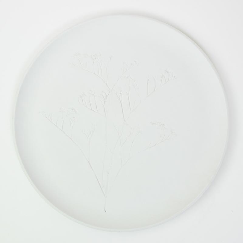 Plantenbord XL - Wit 01
