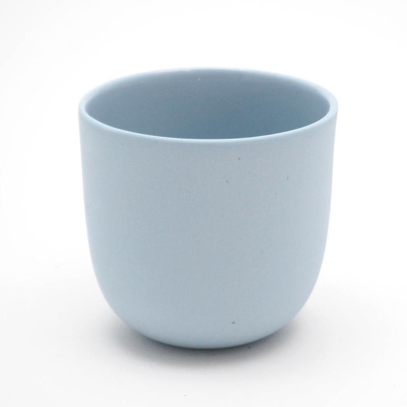 Blanko thee kop - Blauw