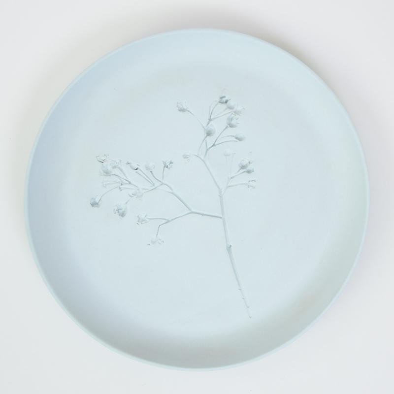 Plantenbord L - Lichtblauw 01