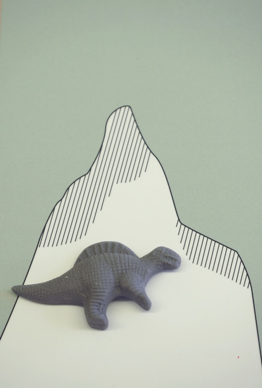Dino 3 - Donkergrijs