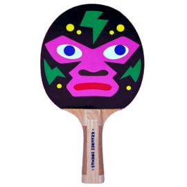 Mad Eye Monkey ping pong bat