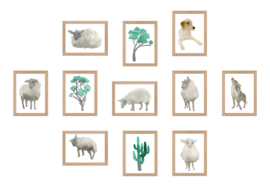Counting Sheep set 2