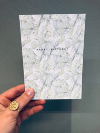 """Happy birthday""card"
