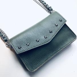 Star/ studs bag Zadig - Armygreen