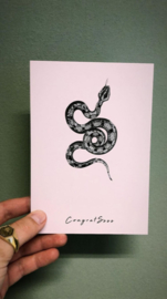 """""""Congratssss"""" card"""