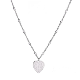 "Necklace ""Leo heart"""