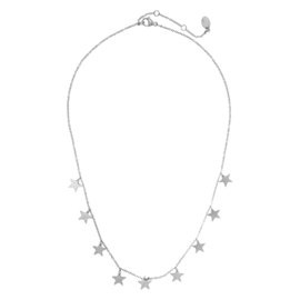 Tiny star necklace silverplated