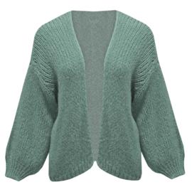 Comfy vest- Ocean Green