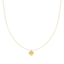 """""""You have my heart necklace"""""""