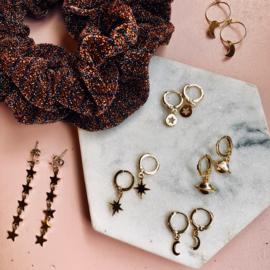 Galaxy inspired earrings